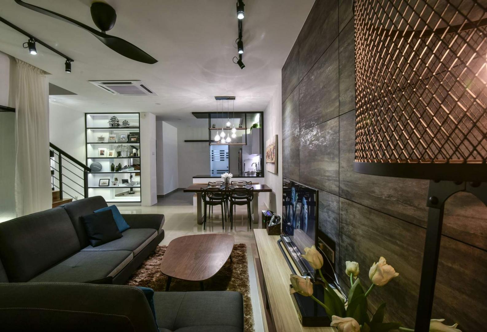 living room bandar kinrara