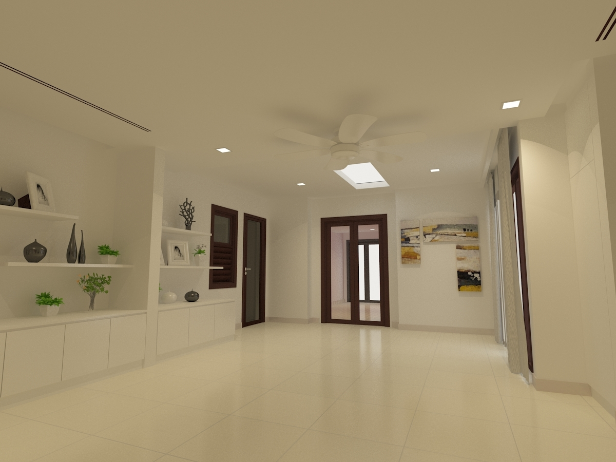 living room design contractor malaysia