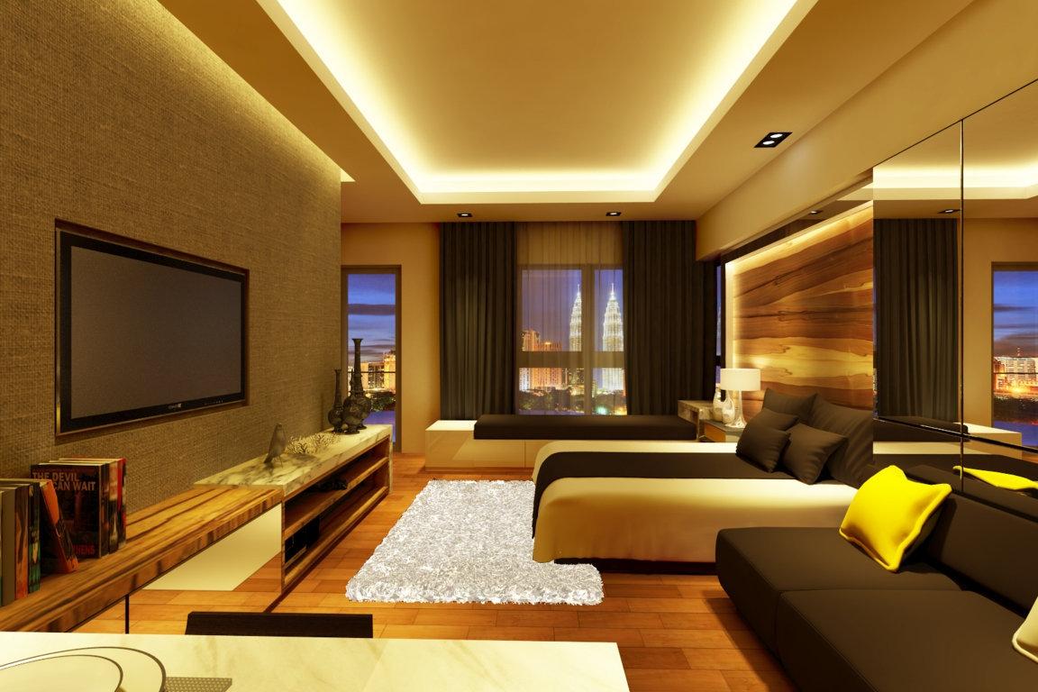 Determine Your Budget For Home Renovation. Living Room Interior Design  Renof Malaysia