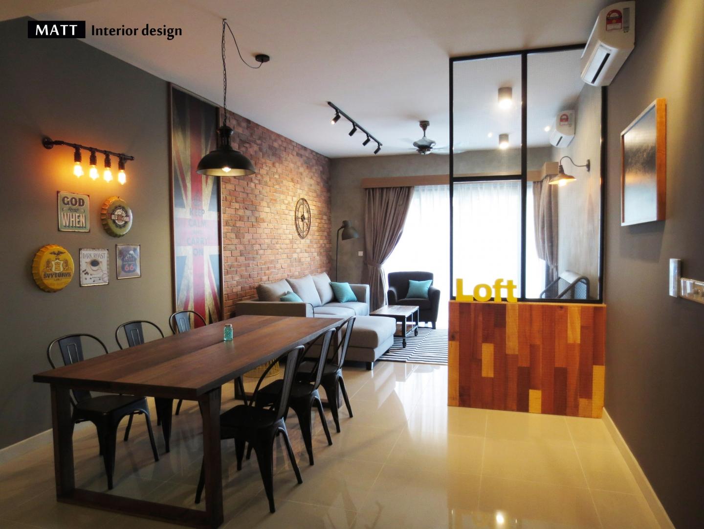 Interior design dining room malaysia