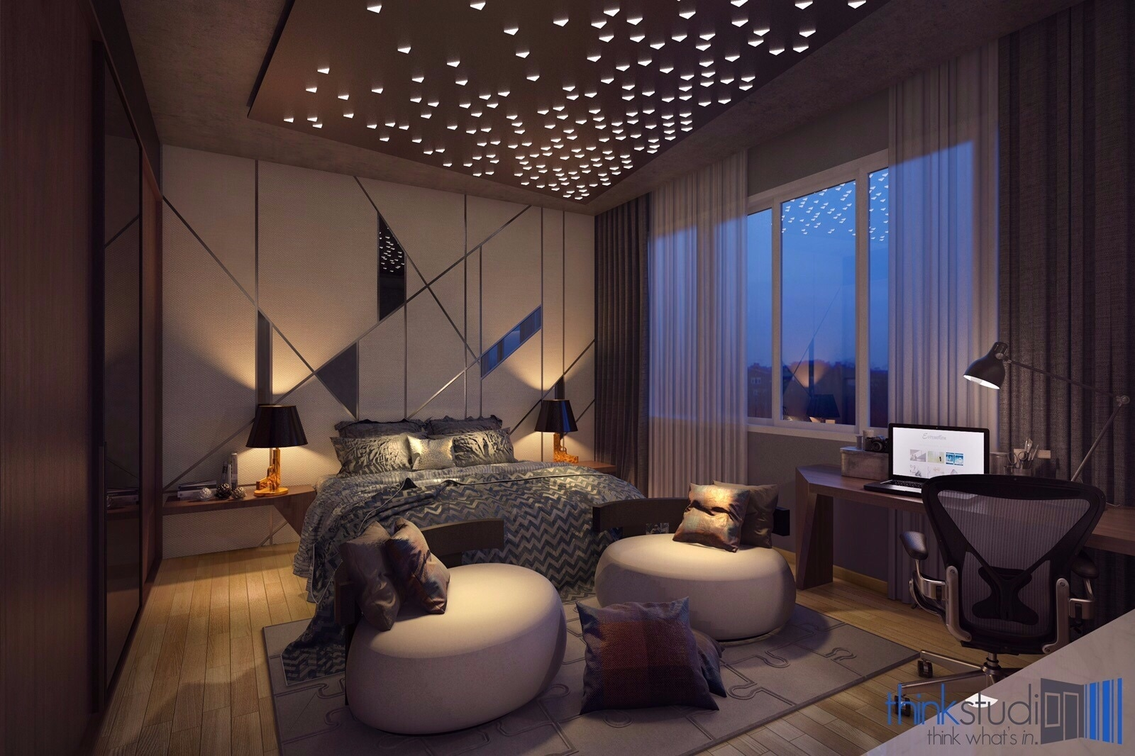 bedroom interior design renof malaysia