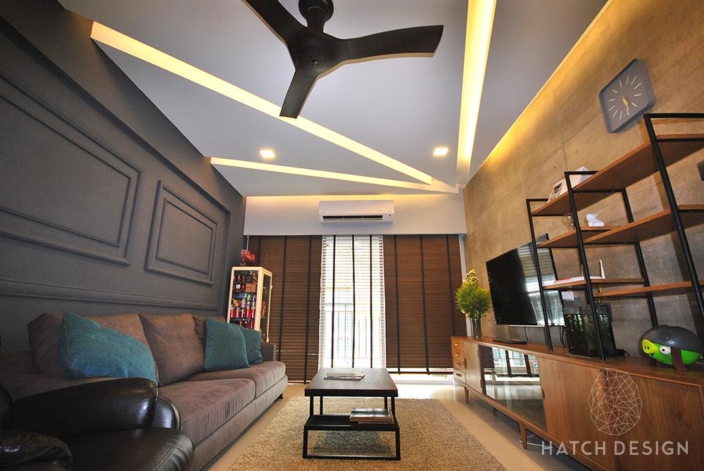 Interior design living room malaysia