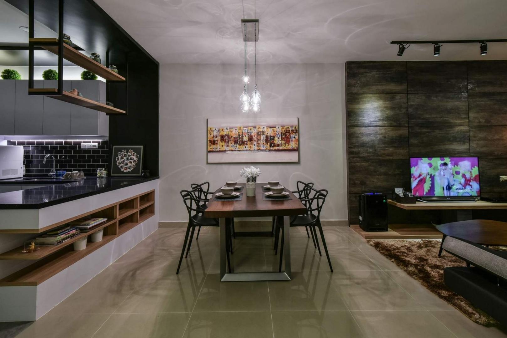 dining room design malaysia renof
