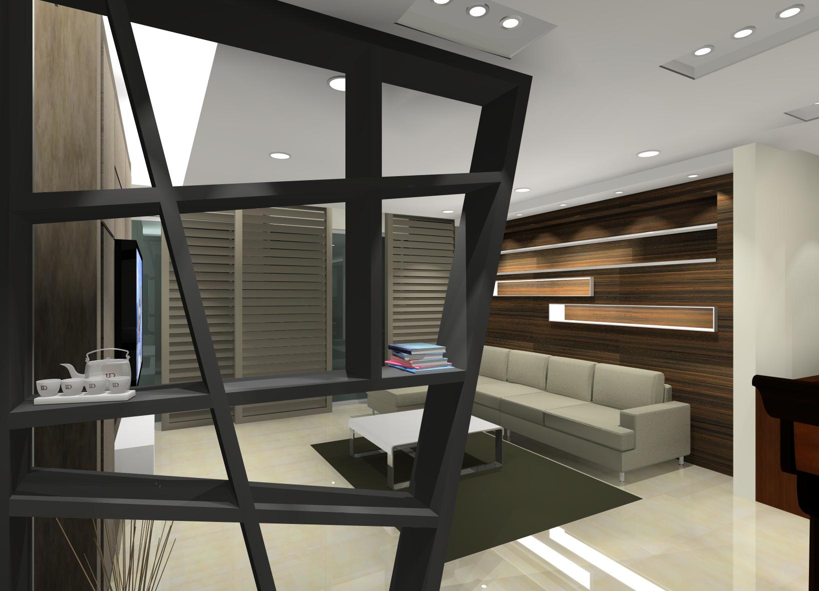 living room interior design malaysia