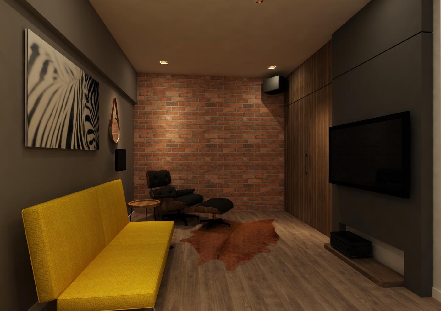 entertainment room interior design renof malaysia