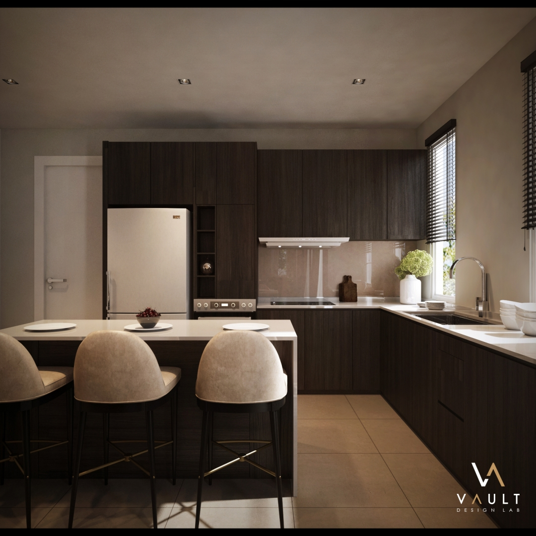 kitchen interior design by vault design lab