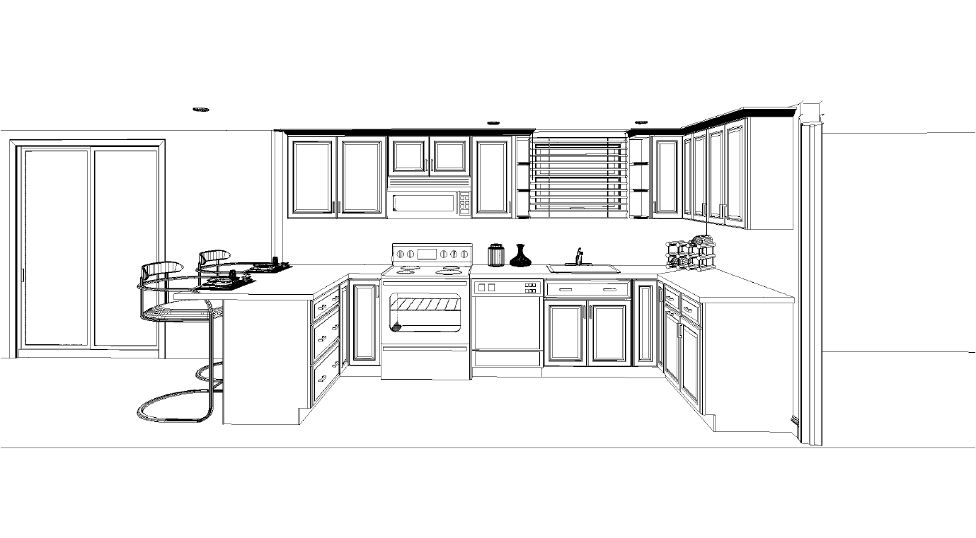 Kitchen plan and layout - Kitchen Plan Layout