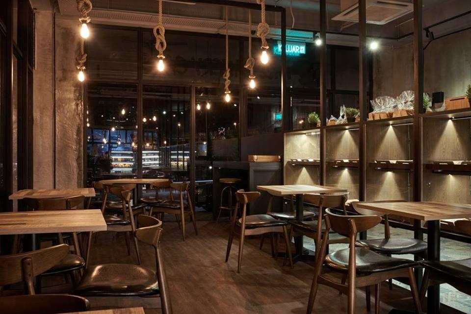 cafe interior design  mill bakery @ desa sri hartamas  ~ Backofen Restaurant Sri Hartamas