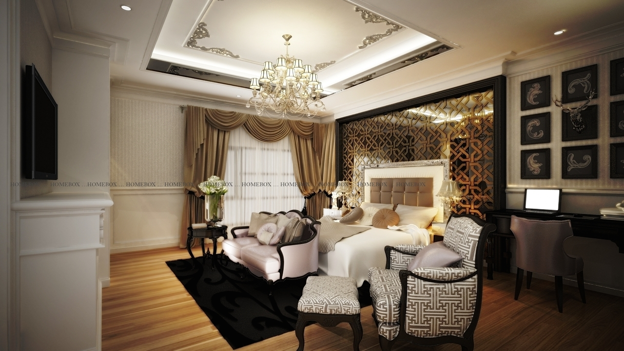 classic luxury home interior design at shah alam renof gallery