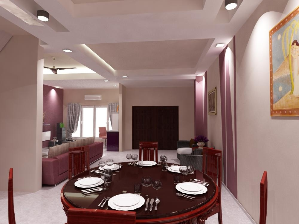 Bungalow interior design kota kemuning renof gallery for Dining room 95 hai ba trung