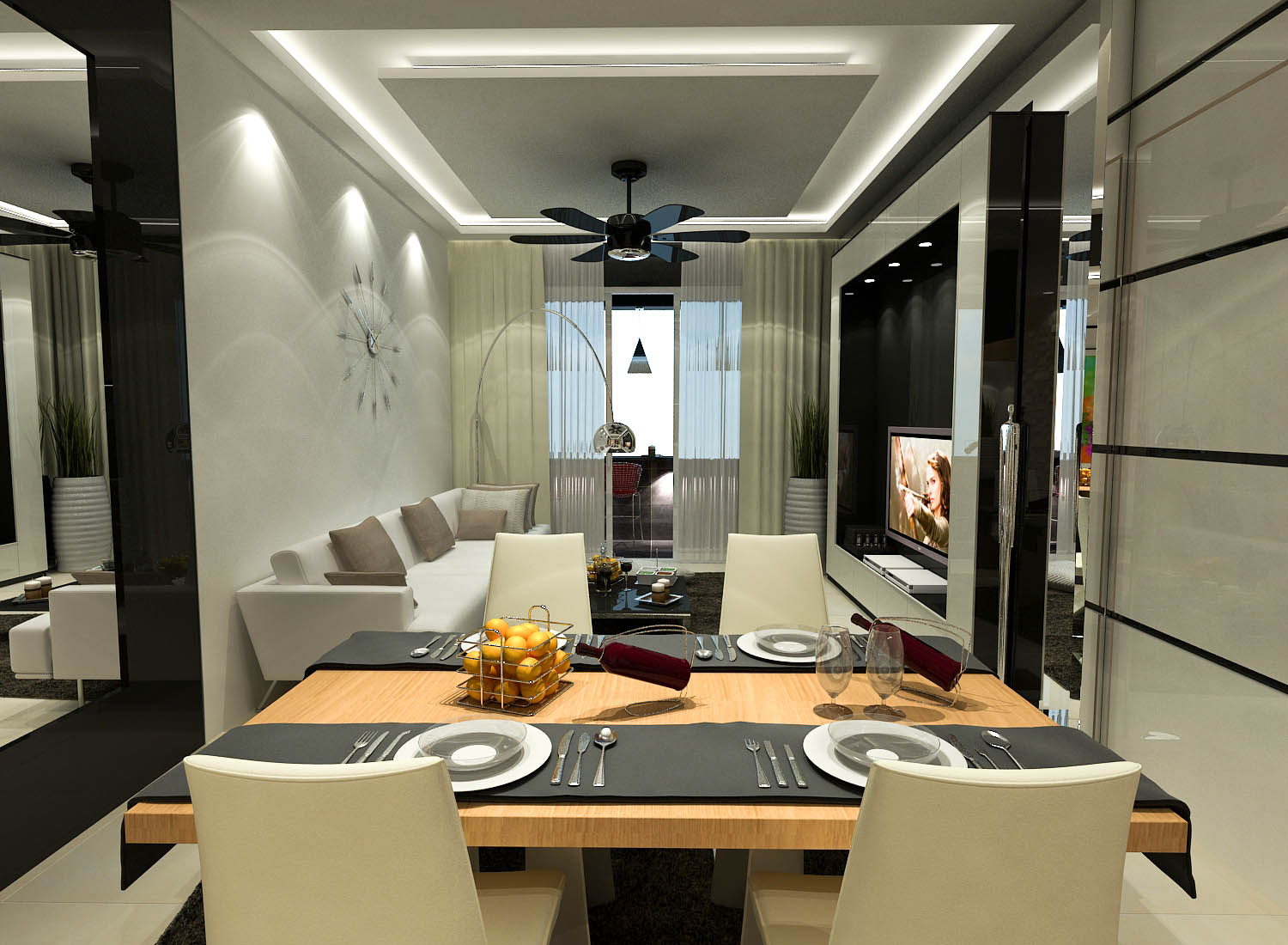 Condo serviced apartment interior renof gallery for Indoor design malaysia