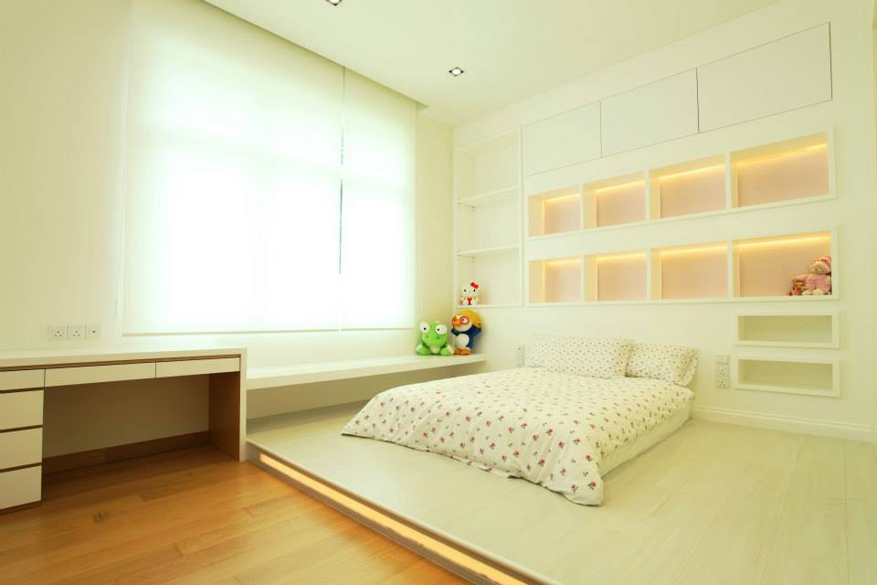 Bungalow at mont kiara renof gallery - Small bedroom bed ideas ...