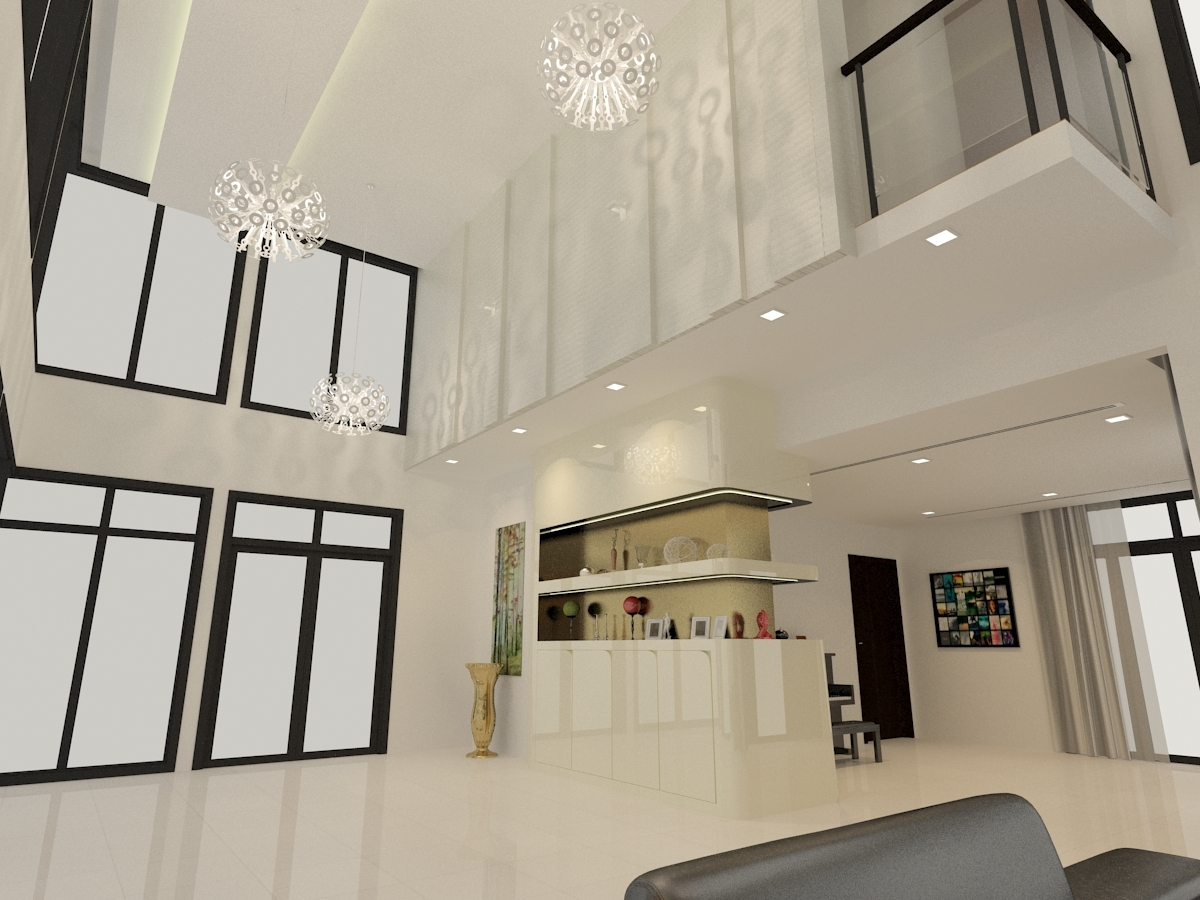 Residential interior design bukit jelutong renof gallery for Residential interior designs
