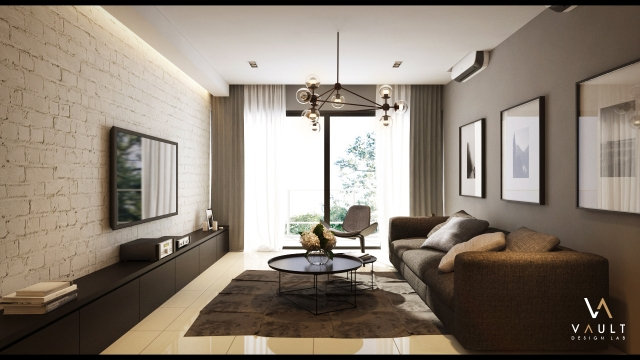 Penang la costa visualization renof gallery for Living room ideas malaysia