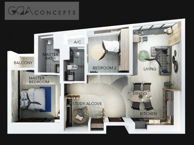 Renof Gallery Type Condo Service Residence
