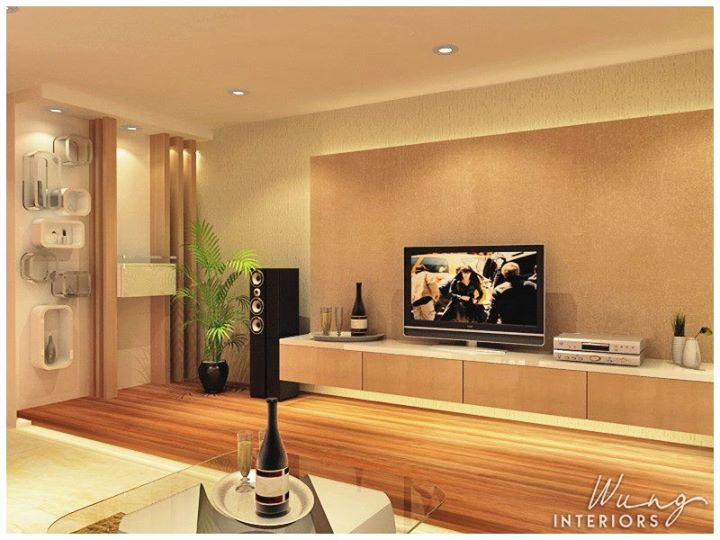 Living hall design malaysia interior design renof for Living hall interior