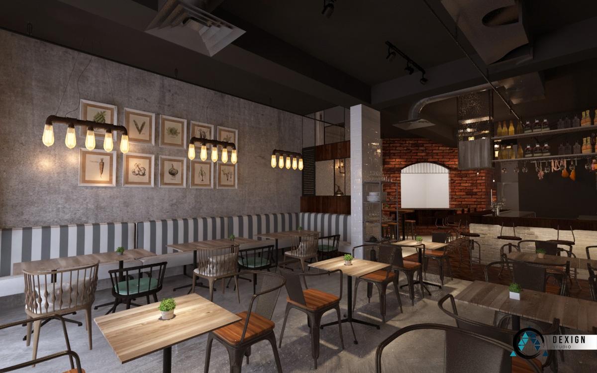 MUSE Restaurant Interior Design Elit Avenue Penang