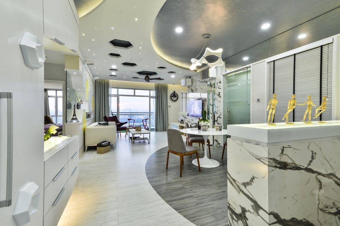 Futuristic Loft Design Condo Interior Design Renof Gallery