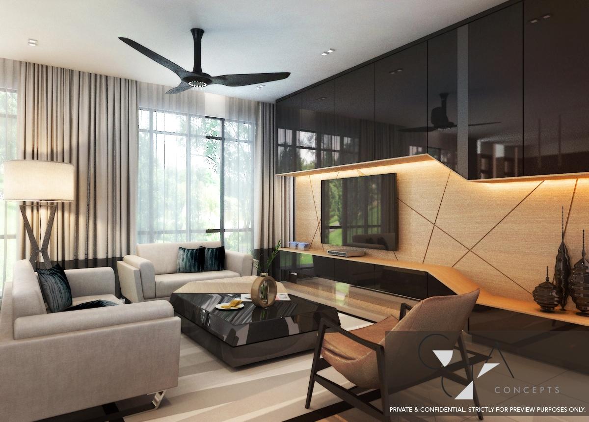 Show Unit Home Design Contemporary Edge Renof Gallery