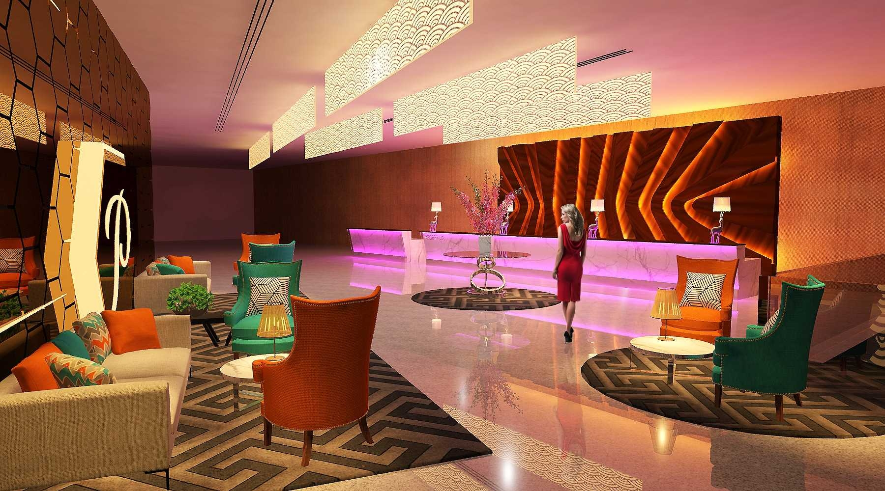 Hotel interior design premiere 3d visualization design at klang renof gallery Interior design visualization