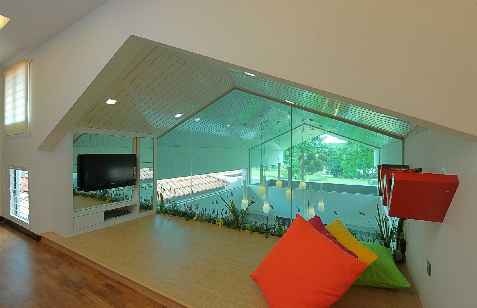 Modern contemporary interior setia eco park bungalow - Modern house interior design ...