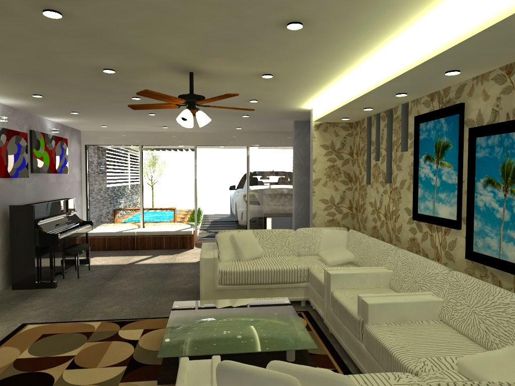 Design For Double Storey Link House At Cheras Selatan Renof Gallery