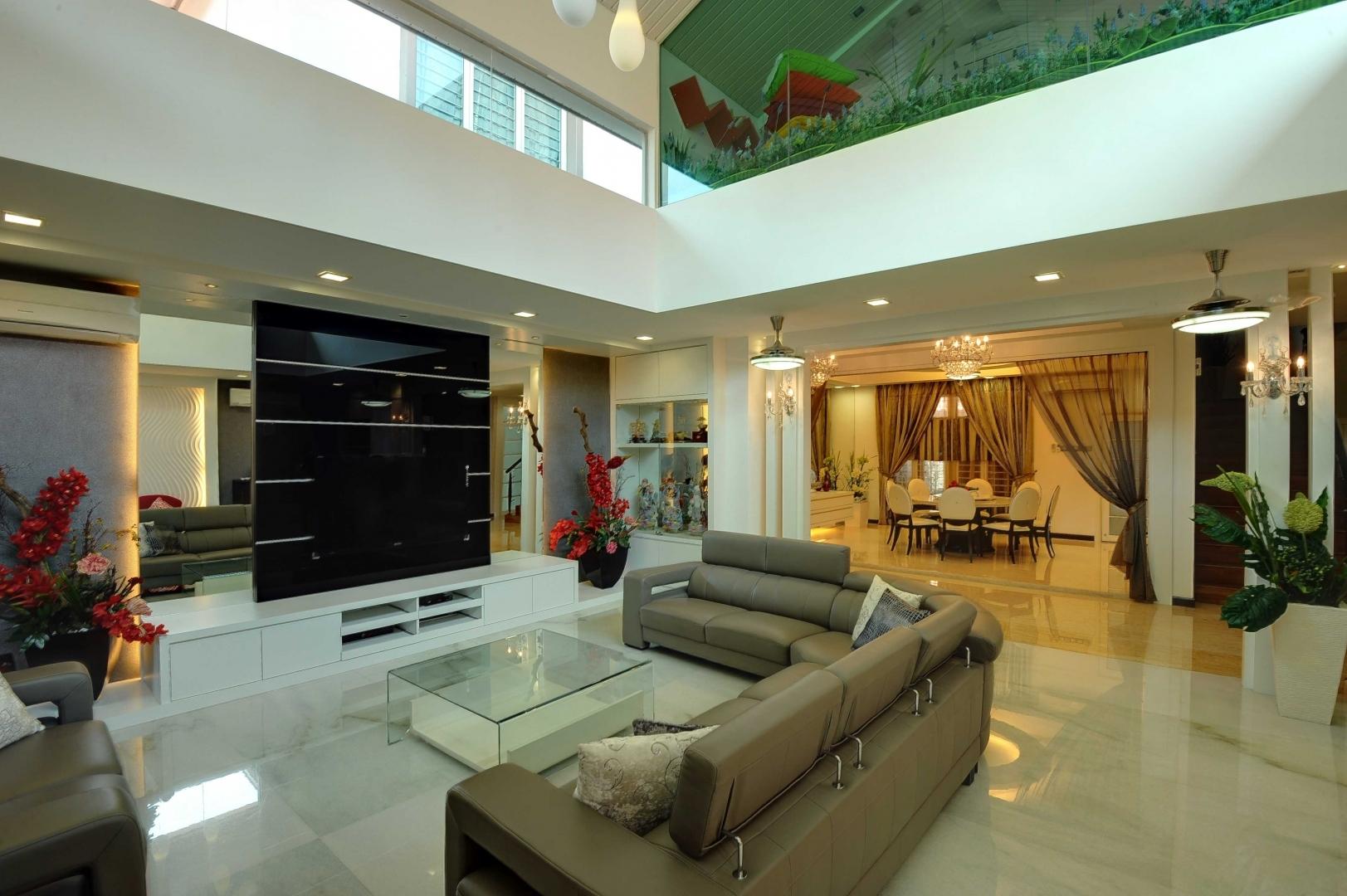 Modern Contemporary Interior Setia Eco Park Bungalow